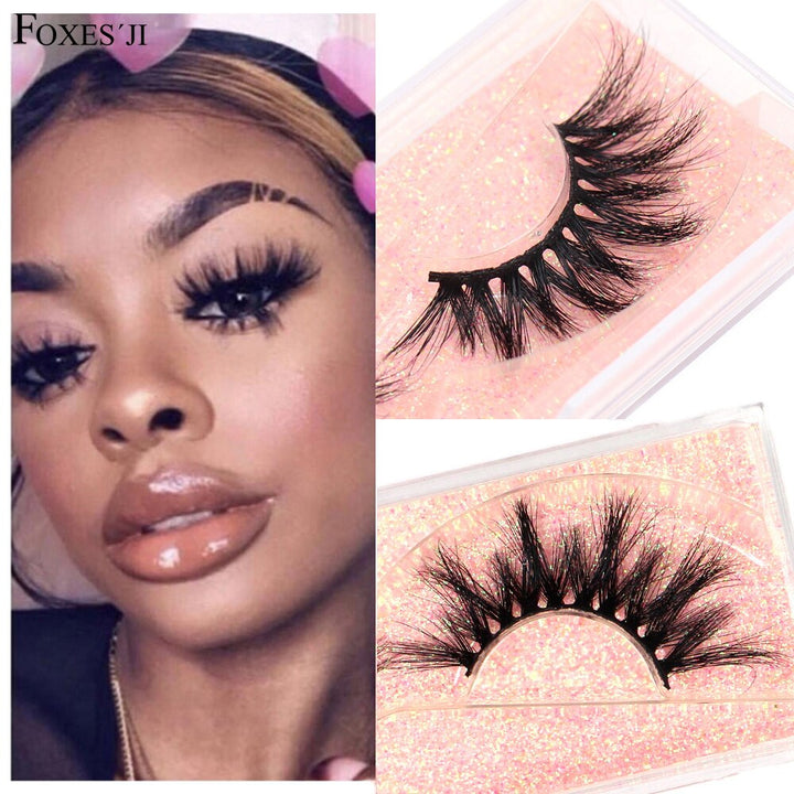 Mink Lashes False Eyelashes Popular