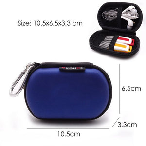 Portable Earphone Storage Bag Hard