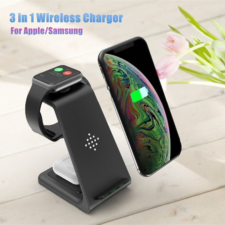 Charge 3 in 1 Wireless Charger Station For iPhone
