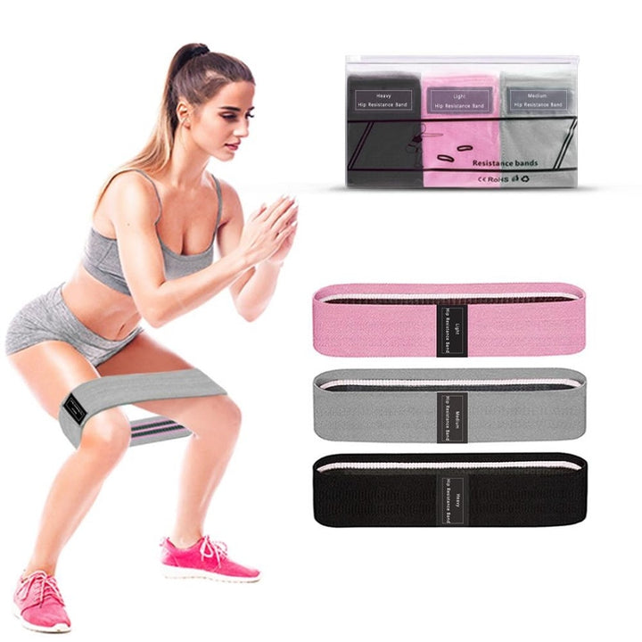 Resistance Bands 3-Piece Set Fitness
