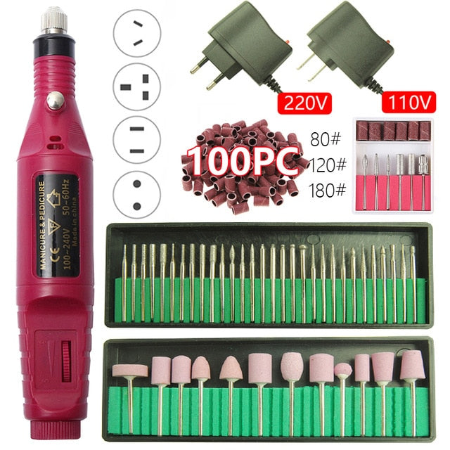 Professional Electric Nail Drill Machine