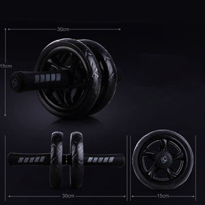 Fitness Wheels No Noise Abdominal