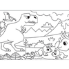 Mighty Dinos Activity Roll