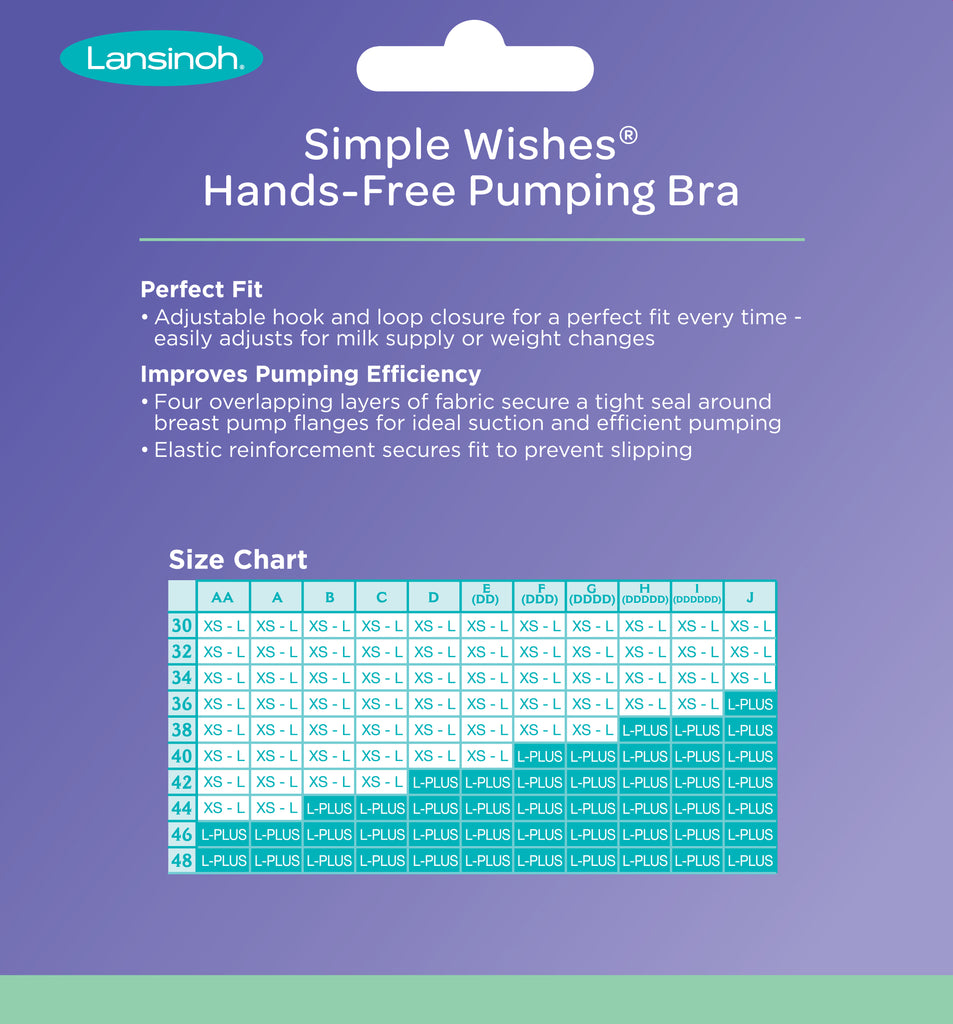 Simple Wishes® Hands-Free Pumping Bra
