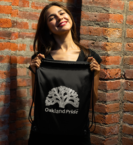Oakland Pride Drawstring Bag