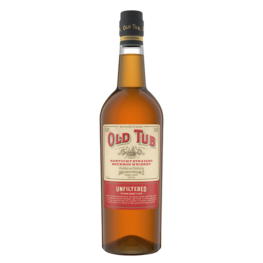 100-proof Bonded Bourbon Jim Beam Old Tub - The Whiskey Dealer