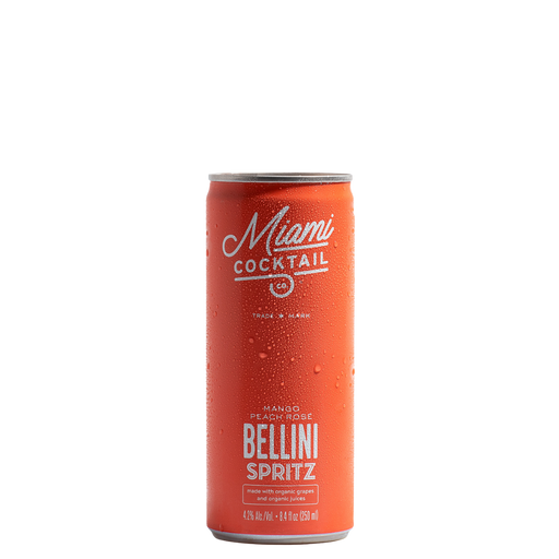 Miami Cocktail Co. Mango Peach Rosé Bellini Spritz - The Whiskey Dealer