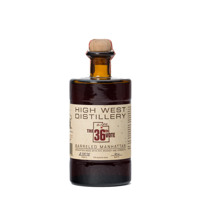 High West The 36th Vote Barreled Manhattan - The Whiskey Dealer