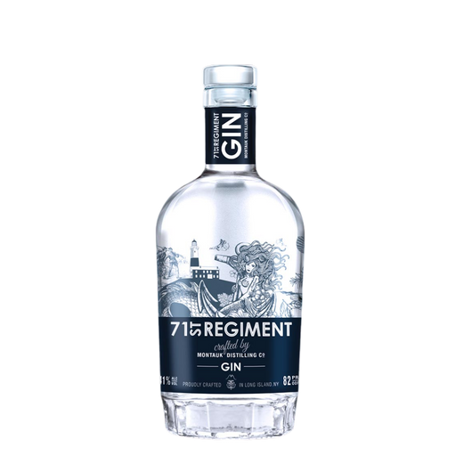 Montauk Distilling Co. 71st Regiment Gin - The Whiskey Dealer