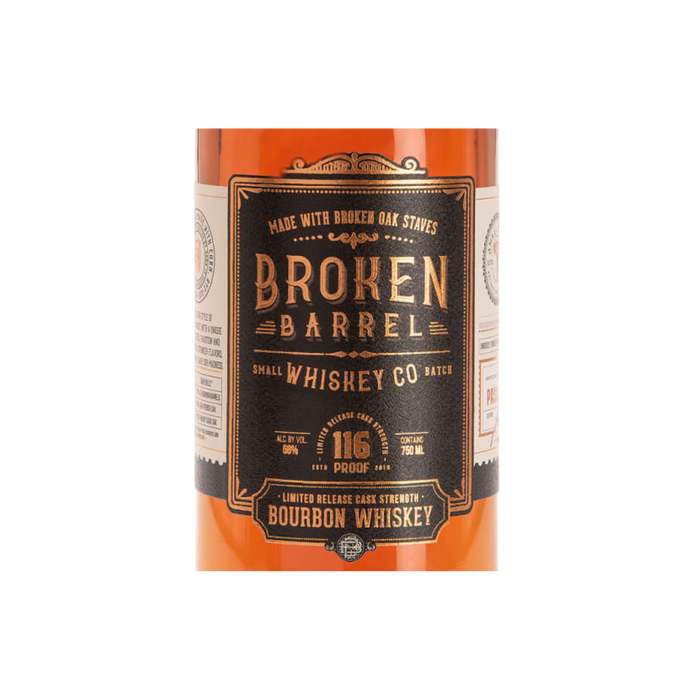 Broken Barrel Bourbon - The Whiskey Dealer