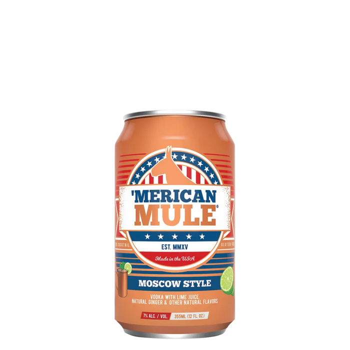 MERICAN MULE MOSCOW STYLE - The Whiskey Dealer