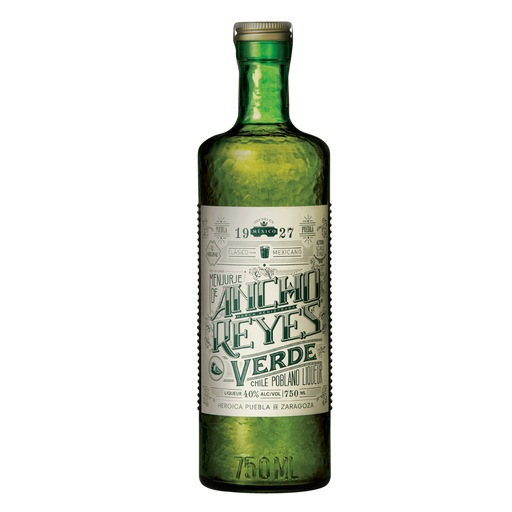 Ancho Reyes Verde Chill Poblano Liqueur - The Whiskey Dealer