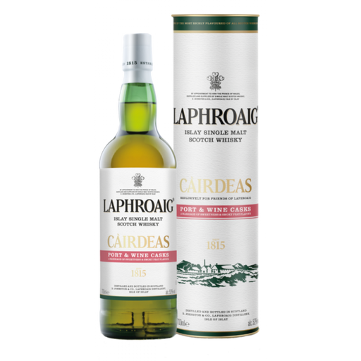 LAPHROAIG CAIRDEAS PORT  WINE CASK 2020 - The Whiskey Dealer