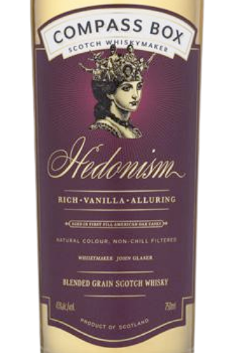 COMPASS BOX HEDONISM - The Whiskey Dealer