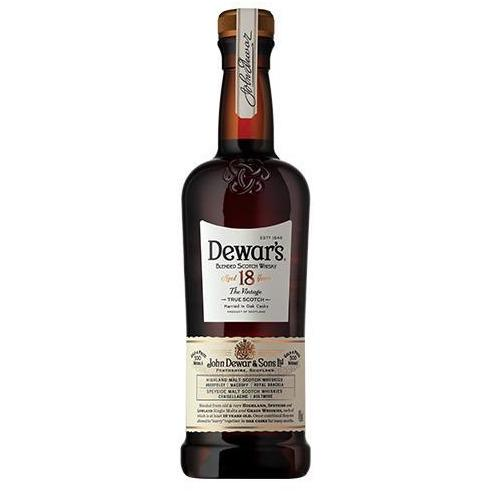 Dewar's 18 Year Blended Scotch Whisky