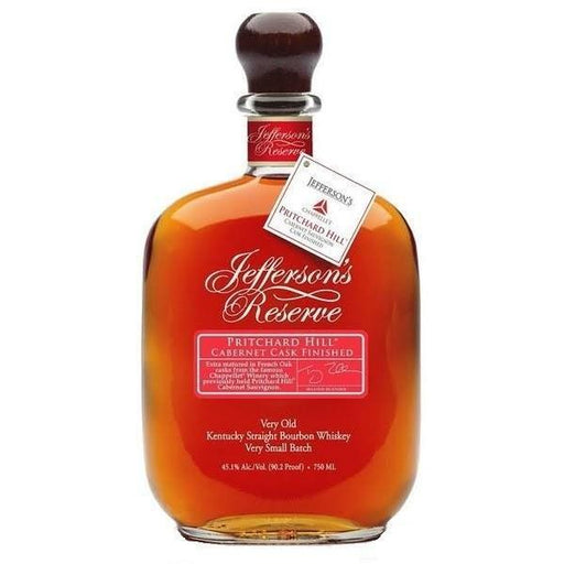 JEFFERSONS RESERVE PRITCHARD HILL CABERNET CASK FINISHED - The Whiskey Dealer