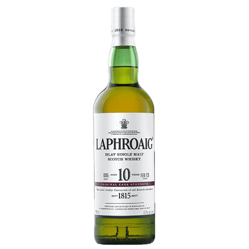 LAPHROAIG SCOTCH 10 YR CASK ST - The Whiskey Dealer