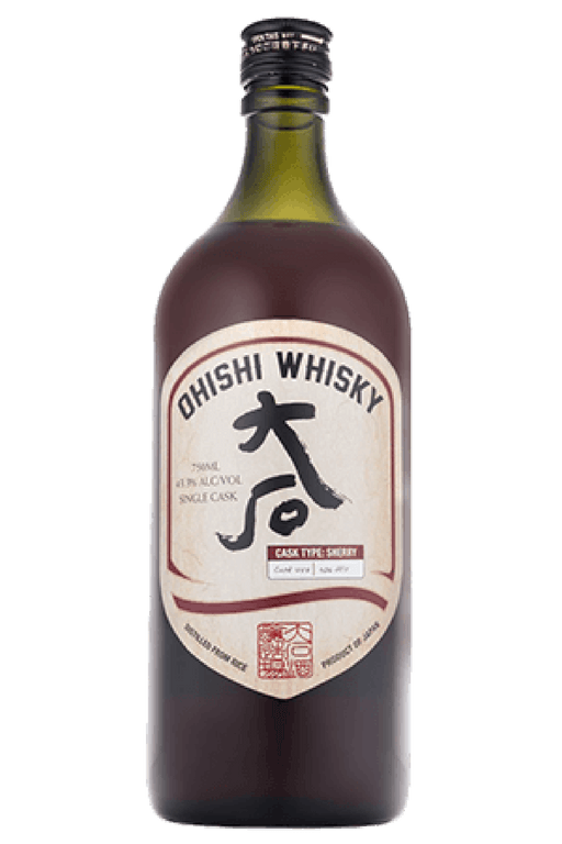 OHISHI SHERRY CASK - The Whiskey Dealer