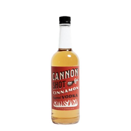 Cannon Shot Cinnamon Flavored Vodka - The Whiskey Dealer