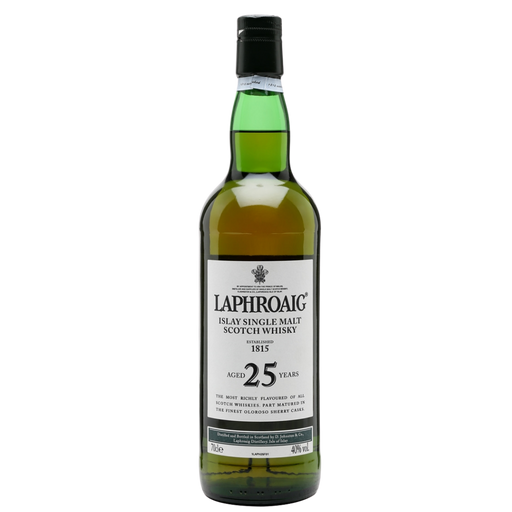 LAPHROAIG SCOTCH 25YR - The Whiskey Dealer