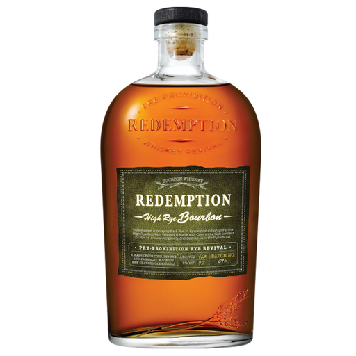 REDEMPTION HIGH RYE BOURBON - The Whiskey Dealer