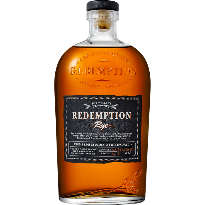 REDEMPTION RYE - The Whiskey Dealer