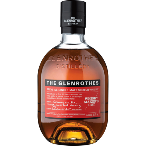 GLENROTHES WHISKEY MAKERS CUT
