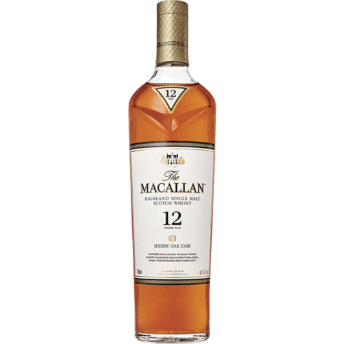 MACALLAN 12 YR SHERRY OAK - The Whiskey Dealer