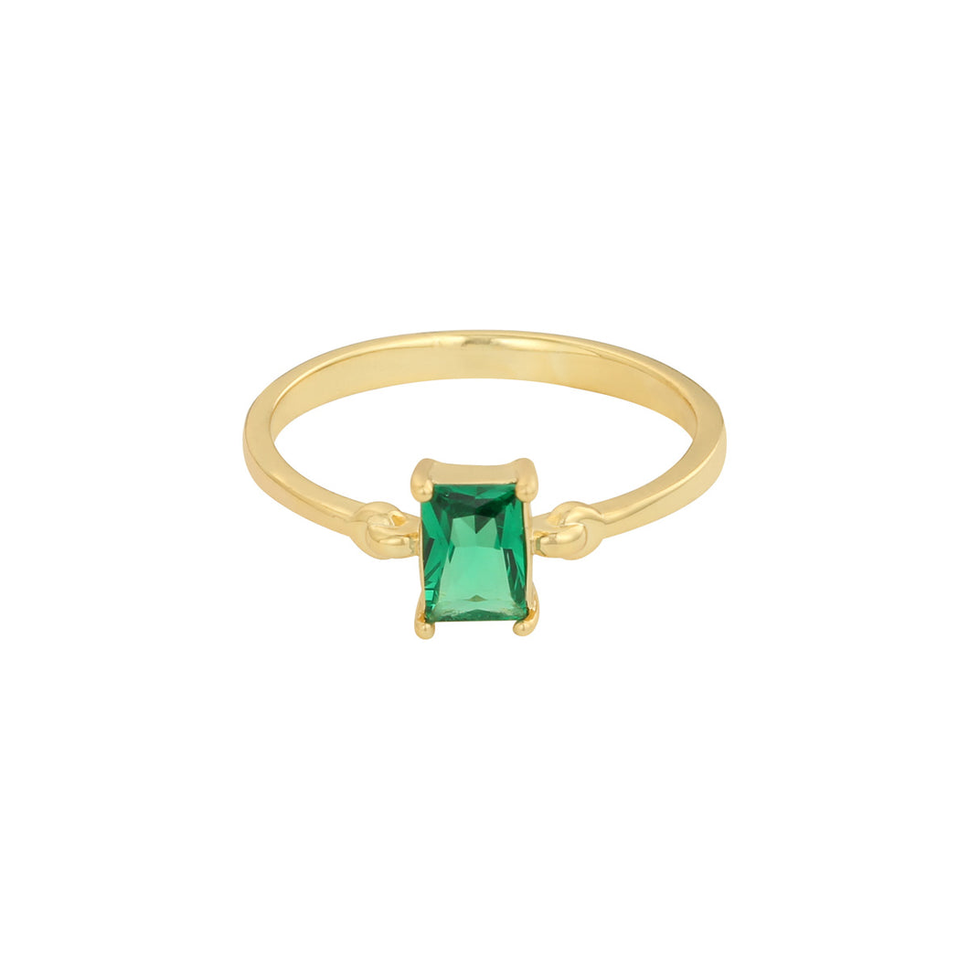 Ring jewel green