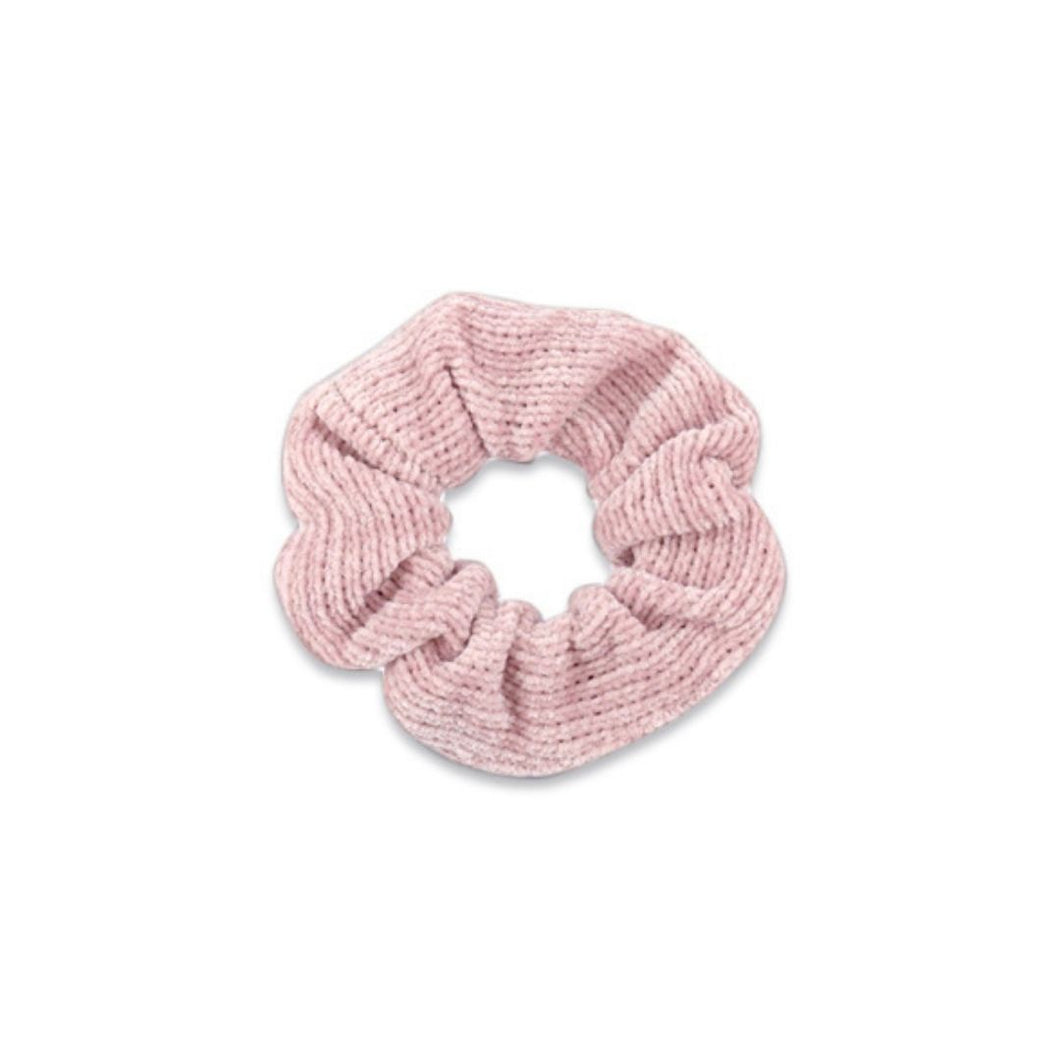 Scrunchie corduroy Rose tan