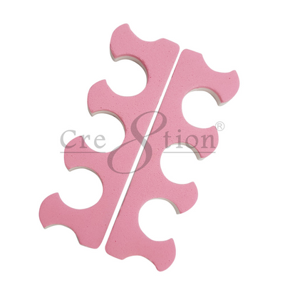 Cre8tion Toe Separators - 3 holes, EVA Foam