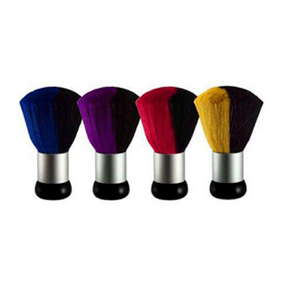 Cre8tion Dust Brush Large 2 tone - Mixed 4 colors 24 pcs./box, 96 pcs./case