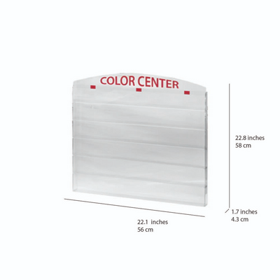 Cre8tion Nail Polish - Wall Mounted Rack - 96 'Color Center'
