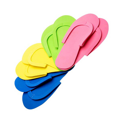 Cre8tion Non-Slippery Disposable Sewing - Pedicure Slippers - Caro Bottom