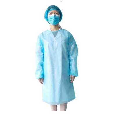 Cre8tion Protective Gown - Blue Medium