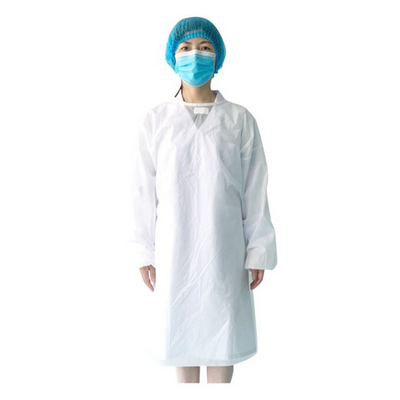 Cre8tion Protective Gown - White Medium