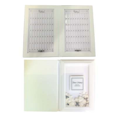 Cre8tion PMMA Material Tips - 120 Colors Display Book