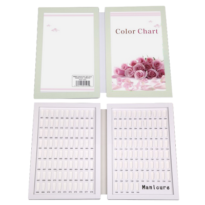 Cre8tion PMMA Material Tips - 160 Colors Display Book