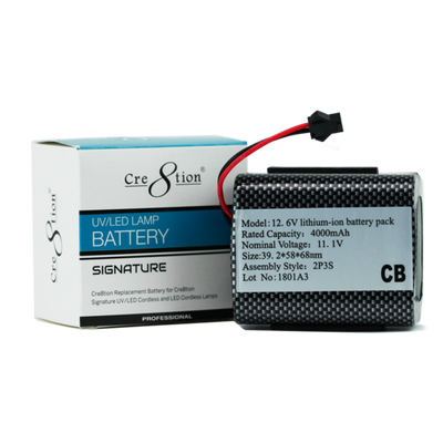 Cre8tion Replacement Battery For Cordless Lamp 50 pcs./case
