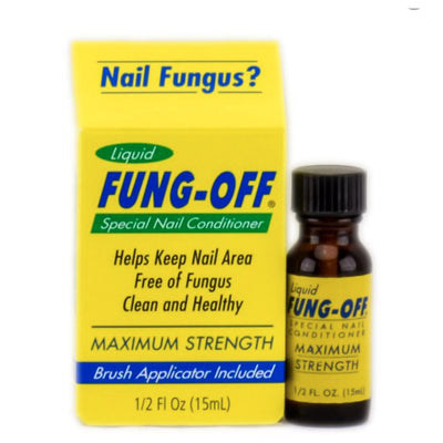 Fung-Off Liquid - Nail Conditioner 0.5oz