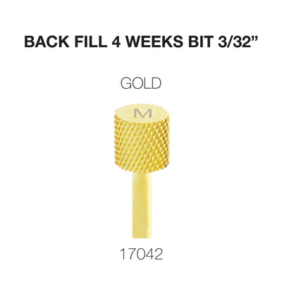 Cre8tion 4-Week Back Fill Bit 3/32 Gold