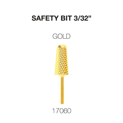 Cre8tion Carbide Safety Bit 3/32 Gold