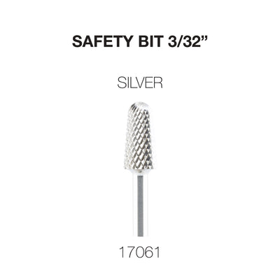 Cre8tion Carbide Safety Bit 3/32 Silver