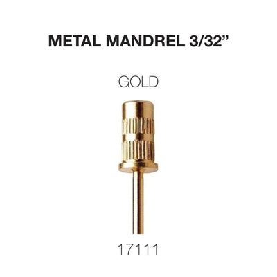 Cre8tion Metal Mandrel Gold 3/32 200 pcs/bag