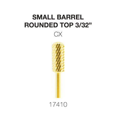 Cre8tion Gold Carbide- Small Barrel-Round Top- CX 3/32