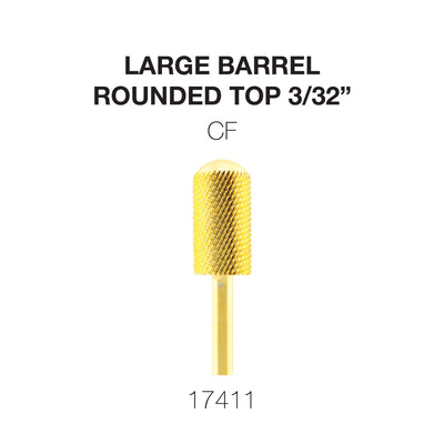 Cre8tion Gold Carbide- Large Barrel-Round Top- CF 3/32