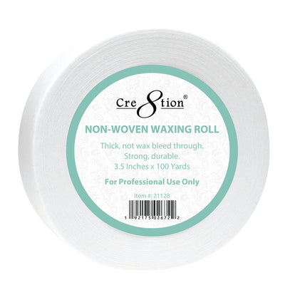 Cre8tion Non-woven Waxing Roll 250 yds 3.50 inches, 4 rolls/case