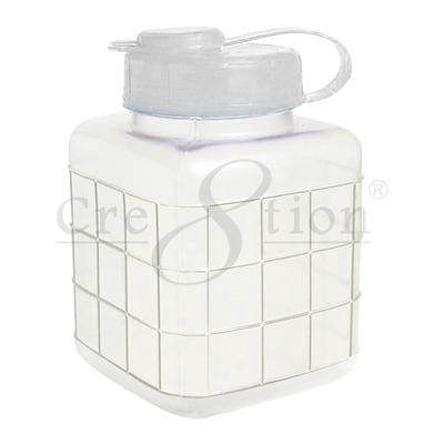 Cre8tion Cotton Container (short) 96 pcs./case 8*8*13 cm
