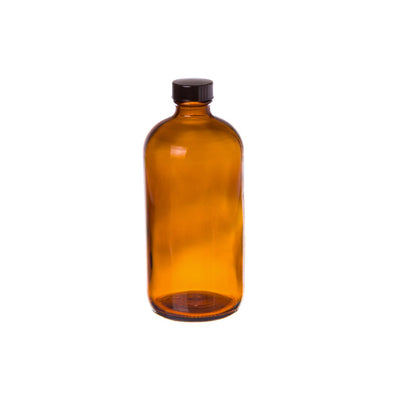 Cre8tion Amber Glass Bottle 32oz 12 pcs./case