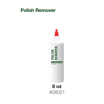 Cre8tion Plastic Bottle 8oz 'Polish Remover' 360 pcs./case